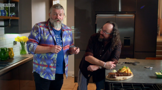 Hairy Bikers in our Kitchen Location