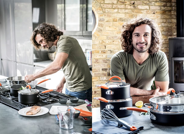 Joe Wicks in the kitchen
